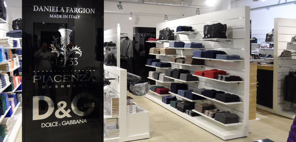 Stores Luxury Mall Italy